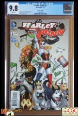 HARLEY QUINN #2 Cover B (2014 series) - 2nd Print Variant Cover - **CGC 9.8**